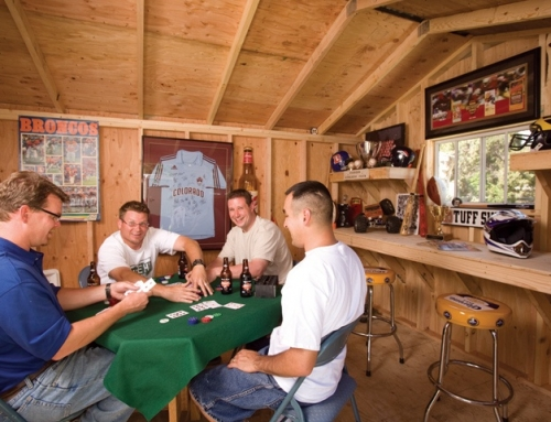 Get your Man Cave delivered fully assembled and ready for use!