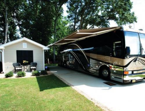 Luxury RV Park Coach Homes